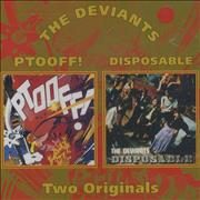 Click here for more info about 'The Deviants - Ptooff! / Disposable'