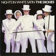 Click here for more info about 'The Dickies - Nights In White Satin - White Vinyl'