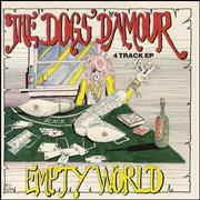 Click here for more info about 'The Dogs D'Amour - Empty World'