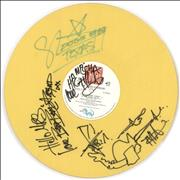 Click here for more info about 'The Kid From Kensington - Yellow Vinyl - Signed'