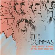 Click here for more info about 'The Donnas - I Don't Want To Know (If You Don't Want Me)'