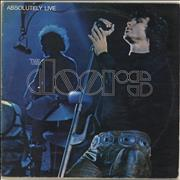 Click here for more info about 'The Doors - Absolutely Live - 1st - VG'