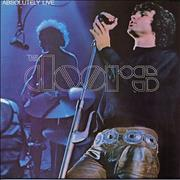 Click here for more info about 'The Doors - Absolutely Live - Butterfly Label'