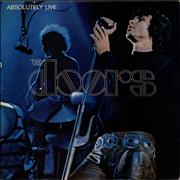 Click here for more info about 'The Doors - Absolutely Live - Butterfly Label - EX'