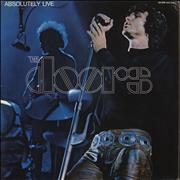 Click here for more info about 'The Doors - Absolutely Live - Red Label'