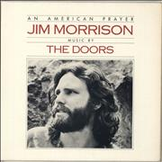 Click here for more info about 'The Doors - An American Prayer - butterfly label - EX'