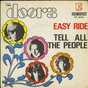 "The Doors Easy Ride France 7"" vinyl Promo"