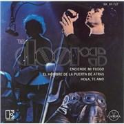 """The Doors Enciende Mi Fuego (Light My Fire) Mexico 7"""" vinyl"""