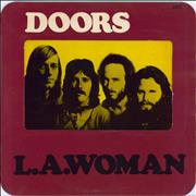 The Doors L.A. Woman - 1st - VG/EX UK vinyl LP