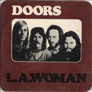 Click here for more info about 'The Doors - L.A. Woman - 3rd - White Tint'
