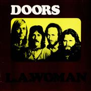 The Doors L.A. Woman - Red Label Germany vinyl LP