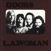 Click here for more info about 'The Doors - L.A. Woman - grey label'