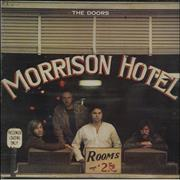 Click here for more info about 'The Doors - Morrison Hotel - Butterfly Label'