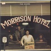 The Doors Morrison Hotel - Butterfly Label UK vinyl LP