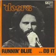 "The Doors Runnin' Blue Italy 7"" vinyl"