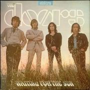The Doors Waiting For The Sun - Butterfly Label UK vinyl LP
