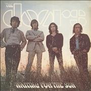 Click here for more info about 'The Doors - Waiting For The Sun - butterfly label'