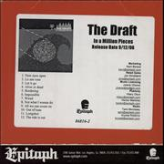 Click here for more info about 'The Draft - In A Million Pieces'