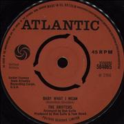 Click here for more info about 'The Drifters - Baby What I Mean'