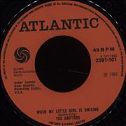 Click here for more info about 'The Drifters - When My Little Girl Is Smiling'