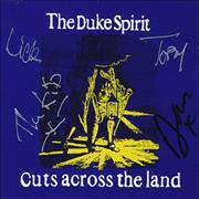 Click here for more info about 'The Duke Spirit - Cuts Across The Land - Autographed'