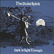 Click here for more info about 'The Duke Spirit - Dark Is Light Enough - White Vinyl'