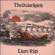 Click here for more info about 'The Duke Spirit - Lion Rip - Red Vinyl'
