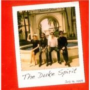 The Duke Spirit Live @ The Paramount Lot USA CD-R acetate Promo