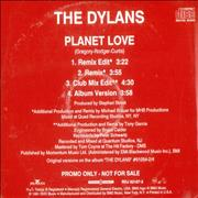Click here for more info about 'The Dylans - Planet Love'