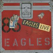 Click here for more info about 'The Eagles - Eagles Live + Poster'