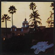 Click here for more info about 'Eagles - Hotel California + Poster - VG'
