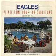 Click here for more info about 'Eagles - Please Come Home For Christmas - Picture Sleeve'
