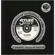 "The Enemy 40 Days & 40 Nights / Dancin' All Night + Sticker UK 7"" vinyl"