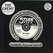 """The Enemy Away From Here UK 7"""" vinyl"""
