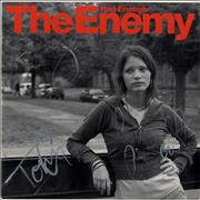 Click here for more info about 'The Enemy - Had Enough - Autographed'