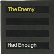Click here for more info about 'The Enemy - Had Enough - Die-Cut Sleeve'