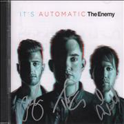 Click here for more info about 'The Enemy - It's Automatic - Autographed'