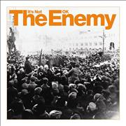 "The Enemy It's Not OK UK 7"" vinyl"