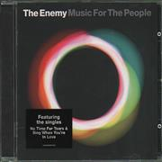 The Enemy Music For The People UK CD album