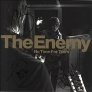 Click here for more info about 'The Enemy - No Time For Tears - Fully Autographed'