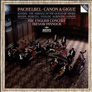 Click here for more info about 'The English Concert - Pachelbel: Canon & Gigue / Handel: The Arrival Of The Queen Of Sheba'