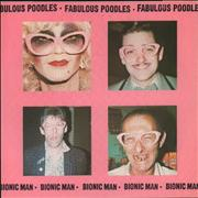 "The Fabulous Poodles Bionic Man UK 7"" vinyl"