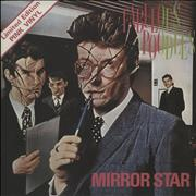 "The Fabulous Poodles Mirror Star - Pink Vinyl - Solid + P/S UK 7"" vinyl"