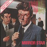 "The Fabulous Poodles Mirror Star - Pink Vinyl - 4 Prong + P/S UK 7"" vinyl"
