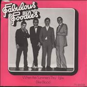 "The Fabulous Poodles When The Summer's Thru' UK 7"" vinyl"