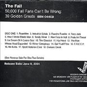 Click here for more info about 'The Fall - 50,000 Fall Fans Can't Be Wrong...'