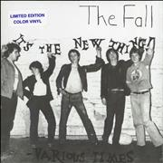 Click here for more info about 'The Fall - It's The New Thing - Blue Vinyl - Sealed'