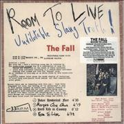 Click here for more info about 'The Fall - Room To Live - Brown Vinyl - Sealed'