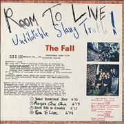 Click here for more info about 'The Fall - Room To Live - White Vinyl'