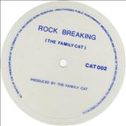 Click here for more info about 'The Family Cat - Rock Breaking - clear flexi'